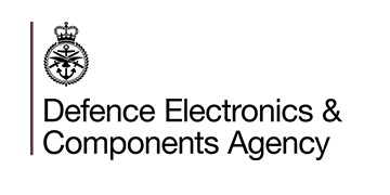 Defence, Electronics & Components Agency logo