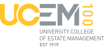 The University College of Estate Management logo