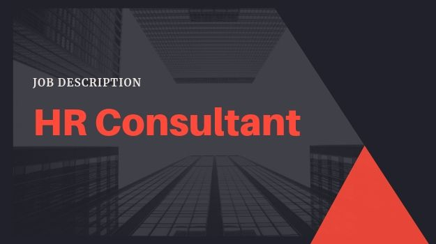 Job description: HR consultant