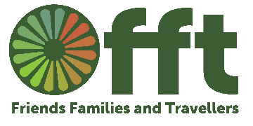 Friends, Families and Travellers logo