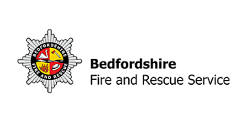 Bedfordshire Fire & Rescue logo