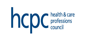 The Health and Care Professions Council logo