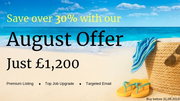 Expand your reach with our exclusive August Offer