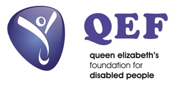 Queen Elizabeth's Foundation for Disabled People (QEF) logo