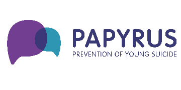 PAPYRUS Prevention of Young Suicide logo