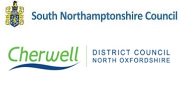 Cherwell District Council & South Northamptonshire Council logo