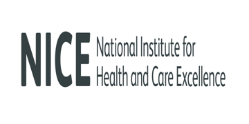 The National Institute for Health and Care Excellence logo