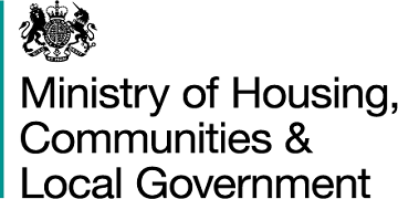 Ministry for Housing and Communities logo