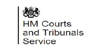 Her Majesty's Courts and Tribunal Service (HMCTS) logo